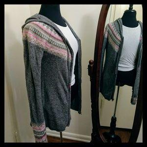 🥀Super Cute Boho Style H&M Zip-Up Cardigan Hoodie